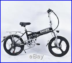 ENGWE Electric Bicycle/Bike 48V 250W Front And Rear Disc Brakes 6 speed