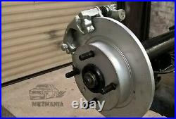 Escort Mk1 Mk2 Rear Disc Conversion Kit English Axle For Sierra Cosworth Caliper