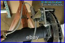FORD 9 Rear Axle End Disc Brake Conversion Kit Large Bearing New Torino Cross