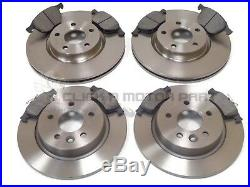 FORD FOCUS MK3 1.0 1.6 TDCi 2011-2016 FRONT AND REAR BRAKE DISCS & PADS SET NEW
