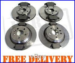 FORD MONDEO 1.6 1.8 2.0 2.2 2.3 TDCi FRONT & REAR DISCS & PADS SET NEW MK4 07