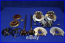 FORD MUSTANG 5 LUG FRONT & REAR DISC BRAKE CONVERSION KIT for 79 90 91 92 93