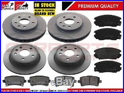 FOR VAUXHALL INSIGNIA 1.4 1.8 2.0 CDTi 2008-2014 FRONT REAR BRAKE DISCS PADS SET