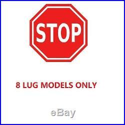 Fit 2002 2003 2004-2008 Dodge Ram 2500 3500 8-LUG F+R DRILLED Brake Rotors Pads