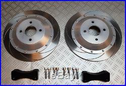 Focus RS MK1 REAR 330mm 2 piece brake disc kit, big 330mm upgrade