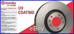 For Acura Integra Honda Civic Del Sol Front & Rear Disc Brake Rotors KIT Brembo