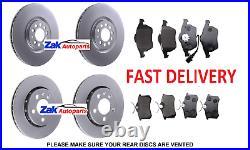 For Audi TT MK1 1.8 20V TURBO QUATTRO (98-05) FRONT & REAR BRAKE DISCS & PADS