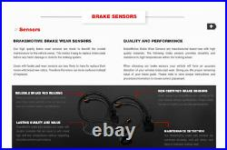 For BMW 320i 328i 330i 428i 430i Front+Rear Drill Slot Brake Rotors Ceramic Pads