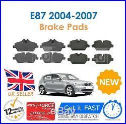 For BMW E87 116i 118i 118D 04-07 Front & Rear Brake Discs & Pads Set + Sensors