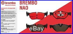 For BMW X5 E70 SAV X6 E71 Full Set Front & Rear Disc Brake Rotors & Pads Brembo