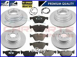For Bmw 1 E81 E87 3 E90 E91 E92 E93 Front & Rear Brake Discs And Pads Sensors