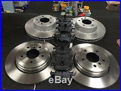 For Bmw 520 F10 Brake Discs Brake Pads Sensor Front Rear Full Set