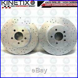 For Bmw 5 6 7 Series Front Rear Performance Brake Discs Brembo Pads Wire Sensors