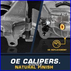 For Escalade Silverado Tahoe Yukon Sierra Avalanche 4WD 4X4 Rear Brake Calipers