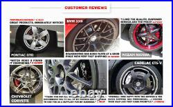 For Ford F350 4WD AWD 4X4 Front & Rear Drill Slot Brake Rotors And Ceramic Pads