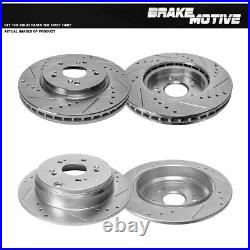 For Front 296 mm And Rear 305 mm Quality Brake Rotors For Honda CRV Acura RDX