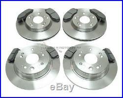 For HONDA CR-V CRV 2.0 MK2 02-05 FRONT & REAR BRAKE DISCS AND PADS CHECK SIZE