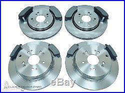 For HONDA CR-V CRV MK3 2.0 2.2 CTDi 2007-2012 FRONT & REAR BRAKE DISCS AND PADS