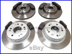 For HONDA FRV FR-V 1.7 1.8 2.0 2.2 CTDi 05-10 FRONT & REAR BRAKE DISCS AND PADS