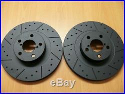 For Impreza WRX 2000-2007 2.0 2.5 MTEC Brake Discs Front Rear Shoes Brembo Pads