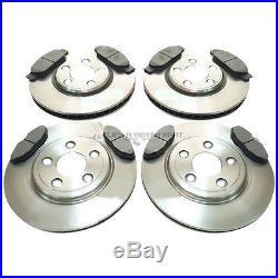 For Jaguar S Type 2.5 3.0 V6 4.0 Front & Rear Brake Discs & Pads (check Size)
