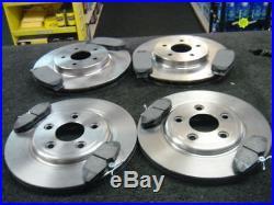 For Jaguar S Type S-type 2.5 3.0 V6 4.0 V8 Front & Rear Brake Discs And Pads