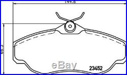 For Land Rover Discovery 2 1998-2004 TD5 V8 Front & Rear Brake Discs & Pads