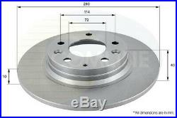 For Mazda 6 Brake Discs & Pads Front + Rear 07-12 1.8 2.0 2.2 2.5 Mzr Mzr-cd Gh