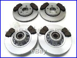 For Nissan Primastar Front And Rear Brake Discs Pads Abs Ring Wheel Bearings