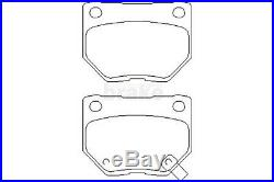 For Subaru Impreza WRX Brake Discs Pads Front and Rear Mintex Dimpled Grooved