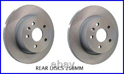 For Vauxhall Astra J Mk6 1.4 1.6 (09-12) Front & Rear Brake Discs And Pads Set