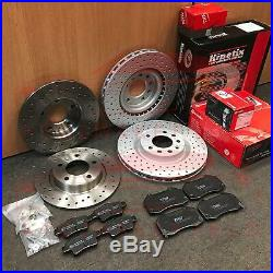 For Vauxhall Corsa Vxr Nurburgring Edition Front Rear Drilled Brake Discs Pads