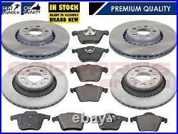 For Volvo Xc90 2.4 D5 2.5 2002- Front & Rear Brake Disc Discs Brake Pads Set