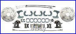 Ford 9 High Performance Rear Disc Brake Conversion Kit, DBK9LX