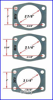 Ford 9 High Performance Rear Disc Brake Conversion Kit Staggered Rear Ends