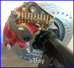 Ford 9 Inch Small/Big Bearing Rear Disc Brake Kit WithE-Brake Calipers