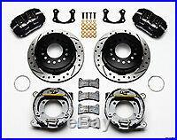 Ford 9 inch Big Bearing Torino Wilwood 11 Dynapro Rear Disc Parking Brake Kit