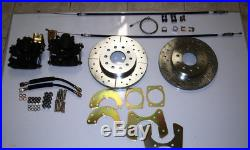 Ford 9 large old bearing rear disc brake conversion