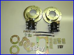 Ford Bronco Truck Small Bearing Rear Disc Brake Conversion 5 On 5.5