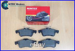 Ford Focus ST225 2.5 MTEC Drilled Grooved Brake Discs Front Rear & Mintex Pads