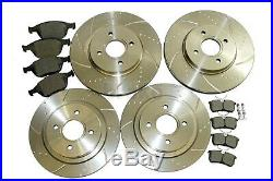 Ford Focus ST 170 Brake Discs and Mintex Pads Front and Rear