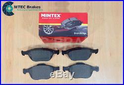 Ford Focus mk1 ST170 2.0 Front Rear MTEC Brake Discs & Mintex Pads 02-05