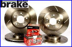 Ford Mondeo MK4 Brake Discs Pads Front Rear Performance Grooved and Mintex Pads