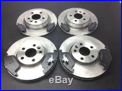 Ford Mondeo Mk4 Mark IV Front And Rear Brake Discs And Pads 2007 Onwards