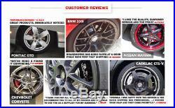 Front And Rear Brake Disc Rotors & Ceramic Pads Kit BMW E46 330 330i 330ci 330xi