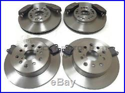 Front & Rear Brake Discs And Pads New Set For Lexus Is200 2.0 1999-2006