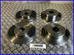Front & Rear Brake Discs & Pads Nissan Qashqai X-trail 1.5 1.6 2.0 J10 T31 07-15