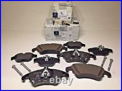 Front&Rear Brake Pads With Sensors For Mercedes C250 C300 C350 E550 E350 GENUINE