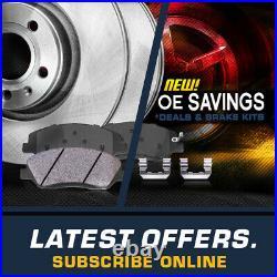 Front+Rear Rotors Ceramic Pads For Chevy S10 Blazer Pickup Envoy Sonoma Jimmy