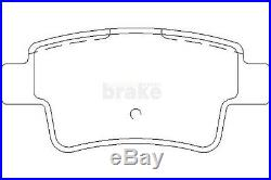 Front and Rear Brake Discs and Brake Pads for Vauxhall Corsa 1.6 VXR